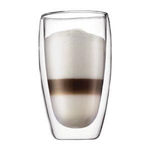 Bodum Pavina Dubbelwandig Glas Latte Macchiato