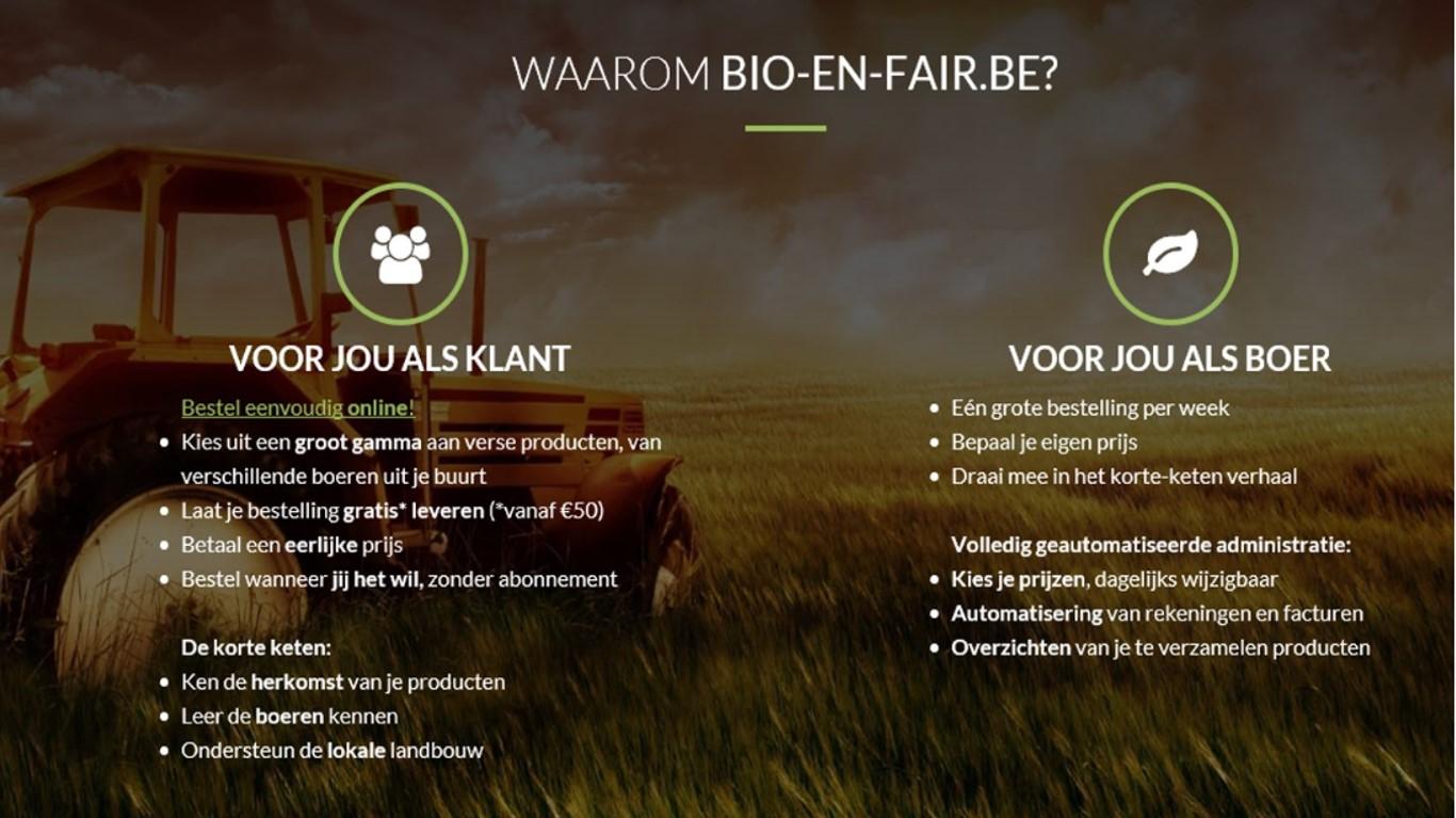 Nieuwe Samenwerking Met Bio & Fair