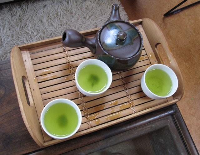 Proeverij Japanse thee
