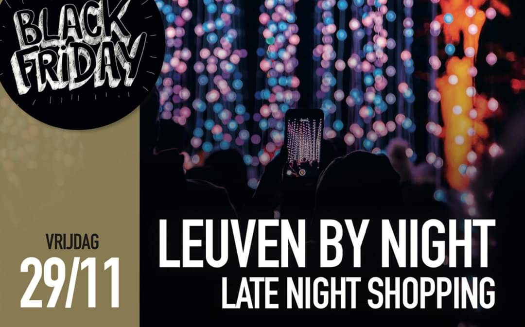 Leuven by night – Late night shopping QUADO LADEUZE